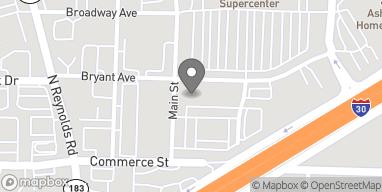 Mapa de 307 Bryant Ave en Bryant