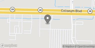 Map of 6503 Coliseum Blvd. in Alexandria