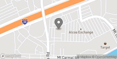 Map of 7409 Alcoa Rd in Bryant