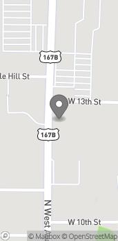 Mapa de 1801 N West Ave en El Dorado