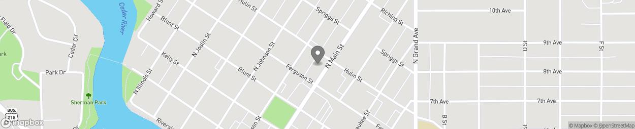 Carte de 507 North Main Street à Charles City