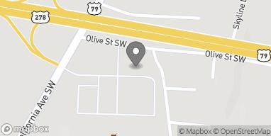 Mapa de 941 California Ave SW en Camden