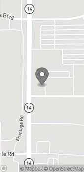 Map of 10 La Frentz Lane in Marshalltown