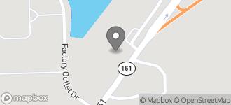 Map of 1096 N. Hazel Street in Arcadia
