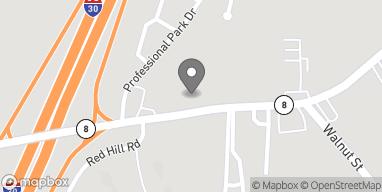 Mapa de 3032 Pine St en Arkadelphia