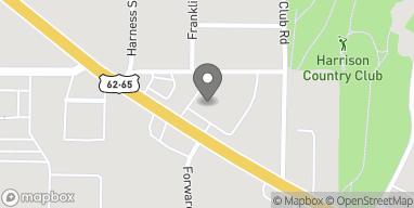 Mapa de 1313 Hwy 62/65 N en Harrison