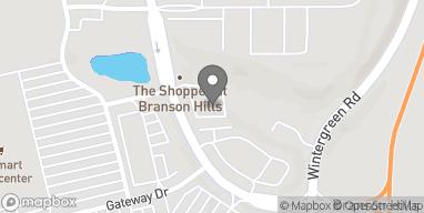 Mapa de 802 Branson Hills Pkwy en Branson