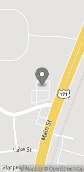 Mapa de 2602 Colony Blvd en Leesville