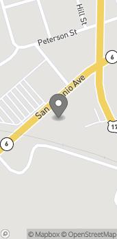 Mapa de 176 San Antonio Ave en Many