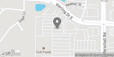 Map of 1140 Vierling Drive E in Shakopee