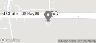 Map of 1310 Highway 80 East in Haughton
