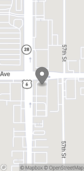 Map of 3737 Merle Hay Road in Des Moines