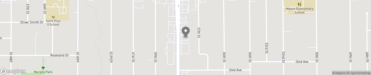 Map of 3525 Merle Hay Road in Des Moines