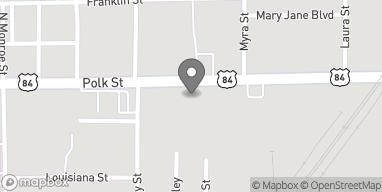 Mapa de 812 Polk St en Mansfield