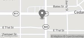 Map of 575 East 70th Street in Shreveport