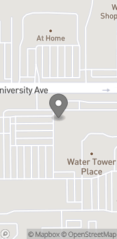 Map of 4100 University Ave in West Des Moines