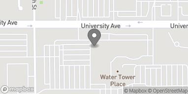 Map of 4100 University Avenue in West Des Moines