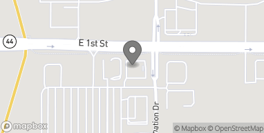 Map of 2250 E 1st Street in Grimes