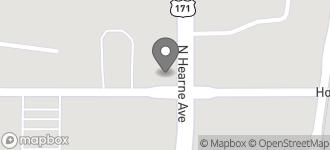 Map of 2702 Hollywood Avenue in Shreveport