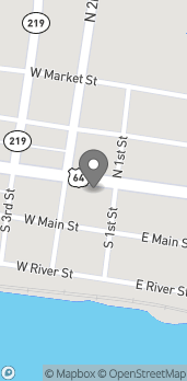 Map of 105 W Commercial St in Ozark