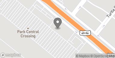 Map of 8445 Memorial Boulevard in Port Arthur