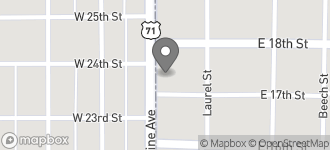 Map of 1700 N. State Line Ave in Texarkana