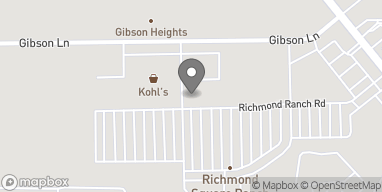 Map of 250 Richmond Ranch Rd in Texarkana