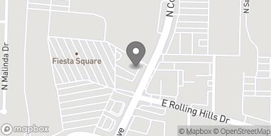 Mapa de 3075 N College Ave en Fayetteville
