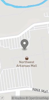Map of 4201 N Shiloh Drive in Fayetteville