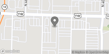 Map of 4404 W Walnut in Rogers