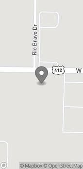 Mapa de 4489 W Sunset Ave en Springdale