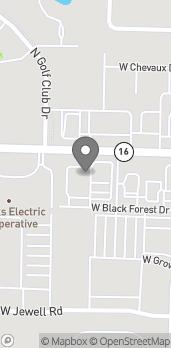Map of 3575 W Wedington in Fayetteville