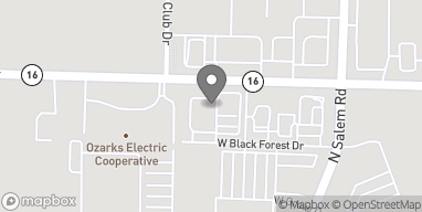 Map of 3575 W Wedington in Fayetteville