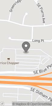 Mapa de 1636 SE Blue Pkwy en Lees Summit