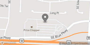 Mapa de 1636 SE Blue Pkwy en Lees Summit