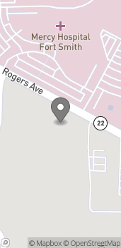 Map of 7110 Rogers Ave in Fort Smith