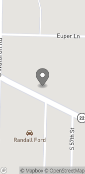 Map of 5607 Rogers Ave in Fort Smith