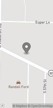 Mapa de 5607 Rogers Ave en Fort Smith