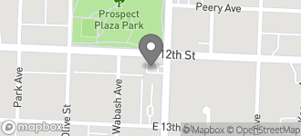 Map of 2515 East 12th Street in Kansas City