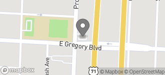 Map of 2600 East Gregory Blvd in Kansas City