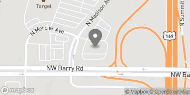 Mapa de 8409 N Madison Ave en Kansas City