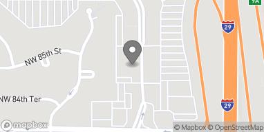 Mapa de 8454 NW Prairie View Rd en Kansas City