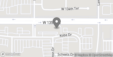 Map of 6615 W 135th in Overland Park