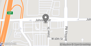 Map of 8801 Johnson Dr in Merriam
