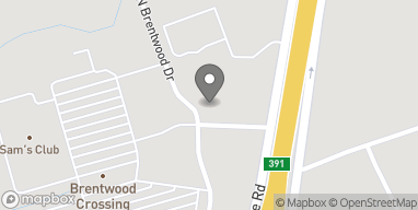 Map of 500 N Brentwood Dr in Lufkin