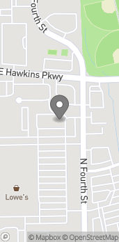 Map of 3407 N 4th Street in Longview