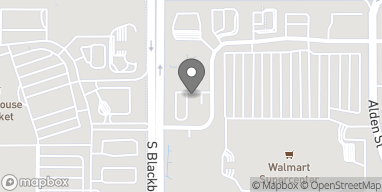 Map of 13536 S Alden St in Olathe