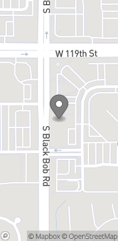 Map of 11971 S Blackbob Rd in Olathe