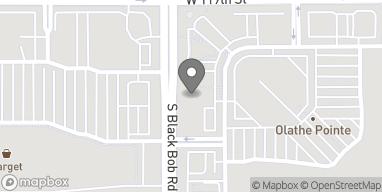 Map of 11971 S Blackbob Rd in Olathe