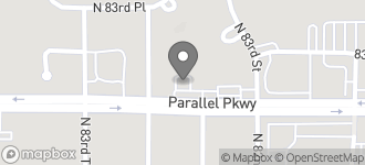 Map of 8234 Parallel Parkway in Kansas City